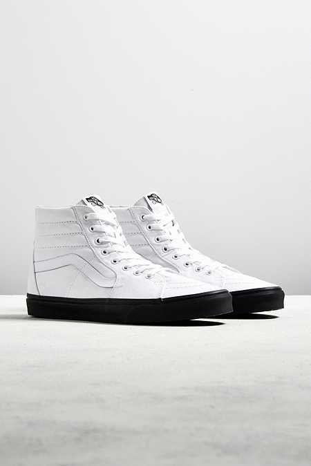 10cd7bbdeb Vans Sk8-Hi Black Sole Sneaker