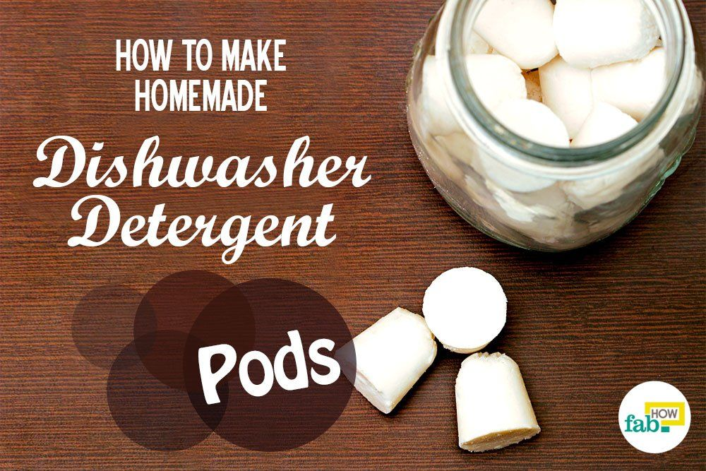 How to Make Homemade Dishwasher Detergent Pods (with and