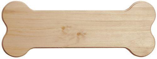 "Pine Dog Bone Signboard - 16"""""""" x 6"""""""" x 0.63 (637314)"