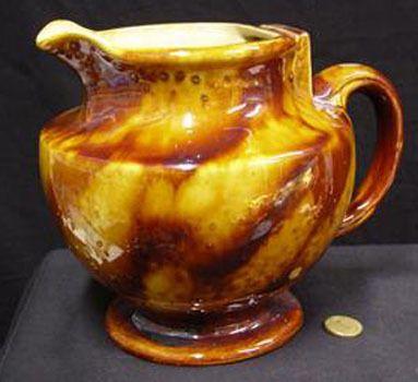 Luke Adams Pottery Nz Ceramic Electric Jug 1920 S Electric Jug Pottery Vintage Pottery