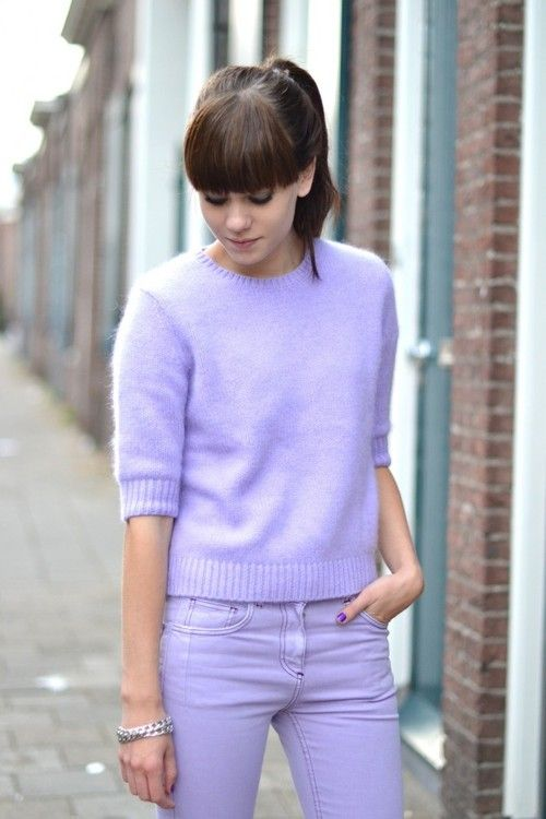 Pin by Steffy on [fashion] | Pinterest | Purple outfits ...