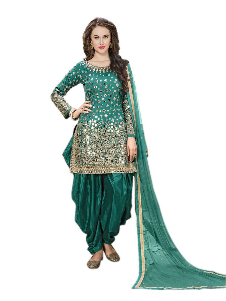 Punjabi suits for women party wear indian salwar kameez ...