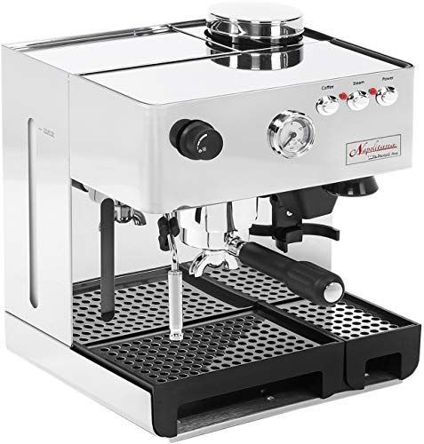 Enjoy exclusive for La Pavoni PA-1200 Napolitana Stainless Steel Automatic Espresso Machine online - Bestsellersoutfits #automaticespressomachine