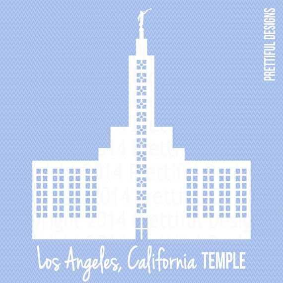 lds clipart temple los angeles - Google Search | YW ideas ...