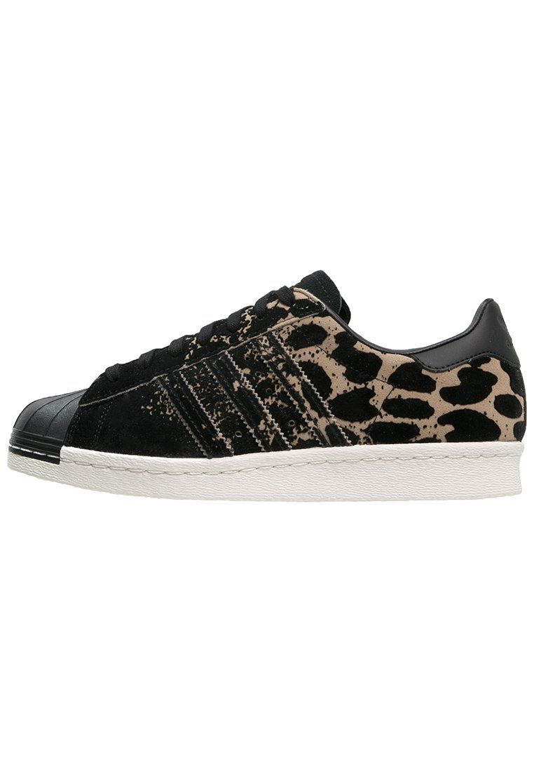 Baskets basses adidas Originals SUPERSTAR 80S - core black/cardboard noir (taille 42)