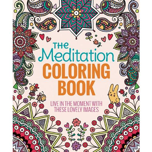 The Meditation Adult Coloring Book Thunder Bay Press Toys R Us