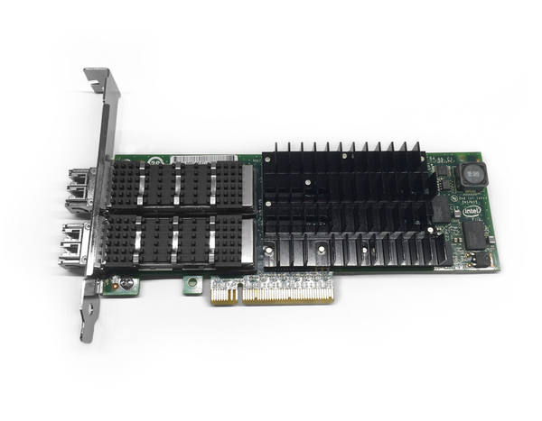 Intel 10gbe Xf Sr Dual Port Full Profile Pcie Server Adapter Exp9502fxsrgp5 Adapter Design Port Adapter