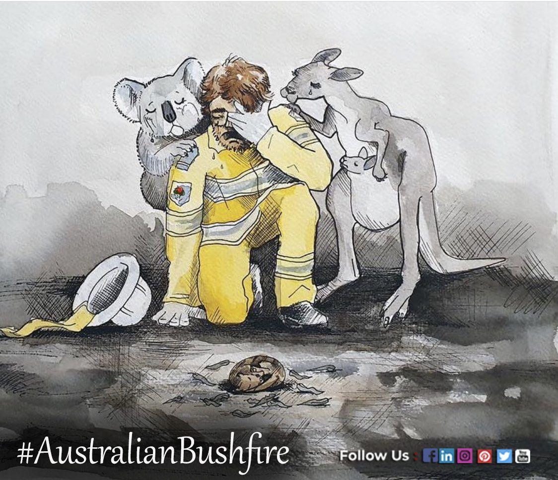 Thank God for the rain in Australia. Our prayers are with