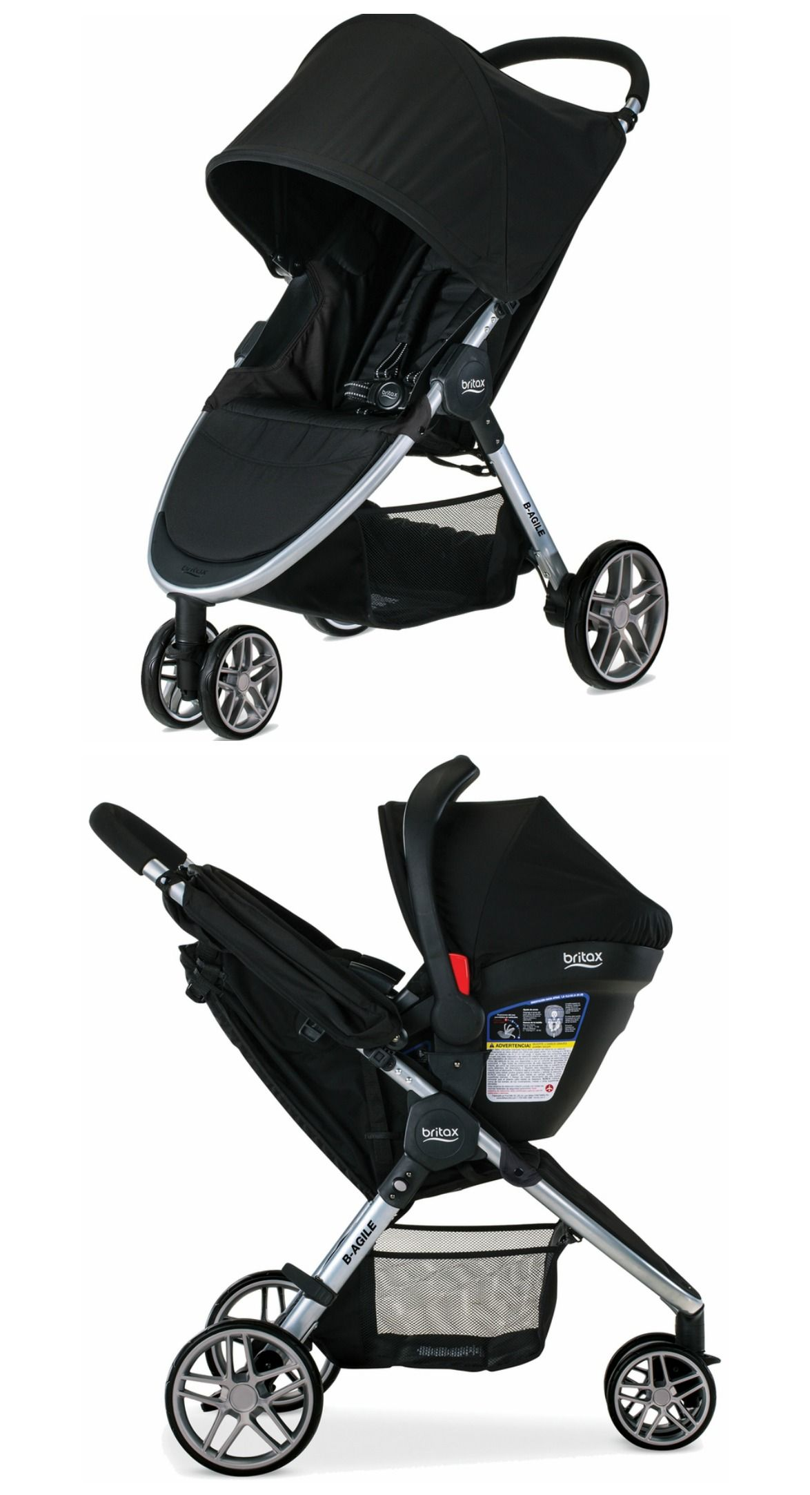 Our Top 10 Standard Strollers include the Britax 2016 B