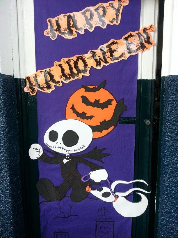Door decoration school stuff pinterest puertas for Puertas decoradas de halloween
