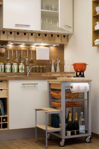 Idee salvaspazio: tavolo per la cucina fai da te | cucina ...