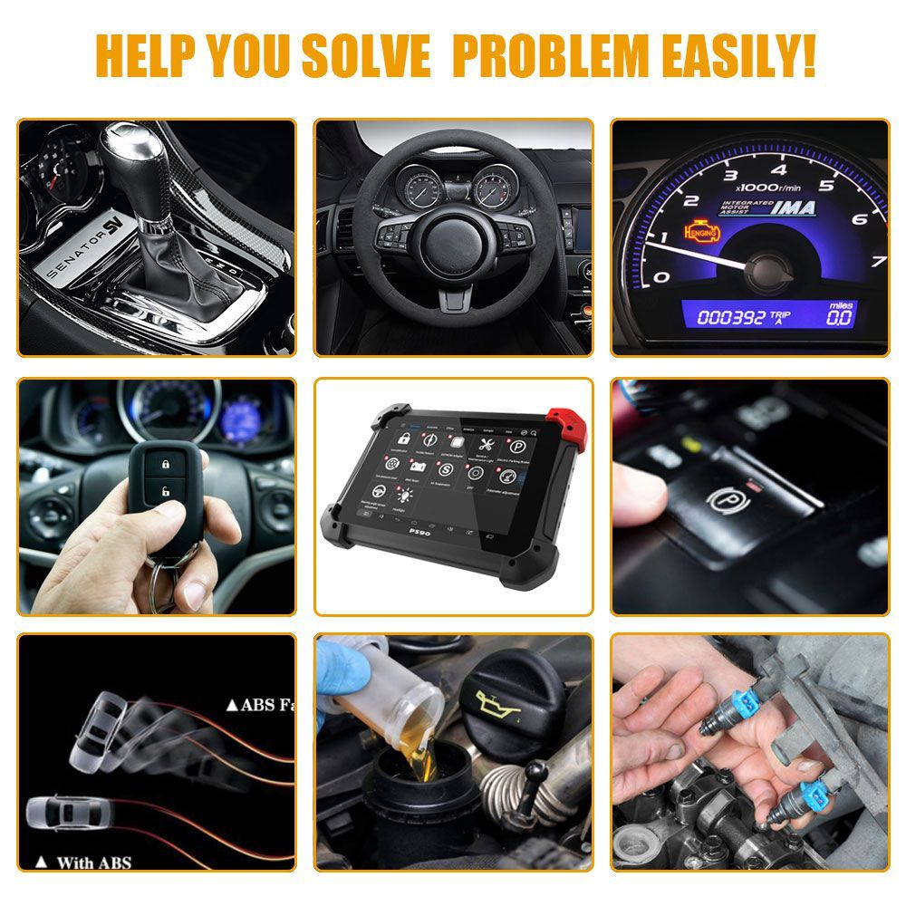 US 1580.00 XTOOL PS90 PRO Car and Truck Diagnosis System