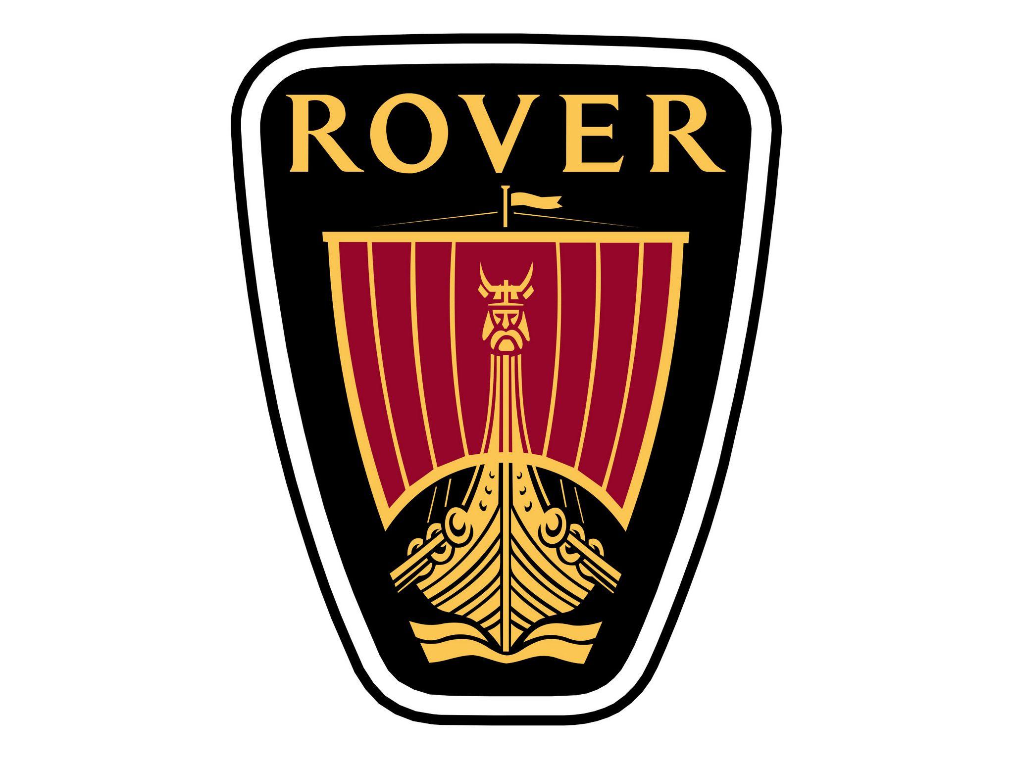 Rover logotype Logo's, Auto's en Motor