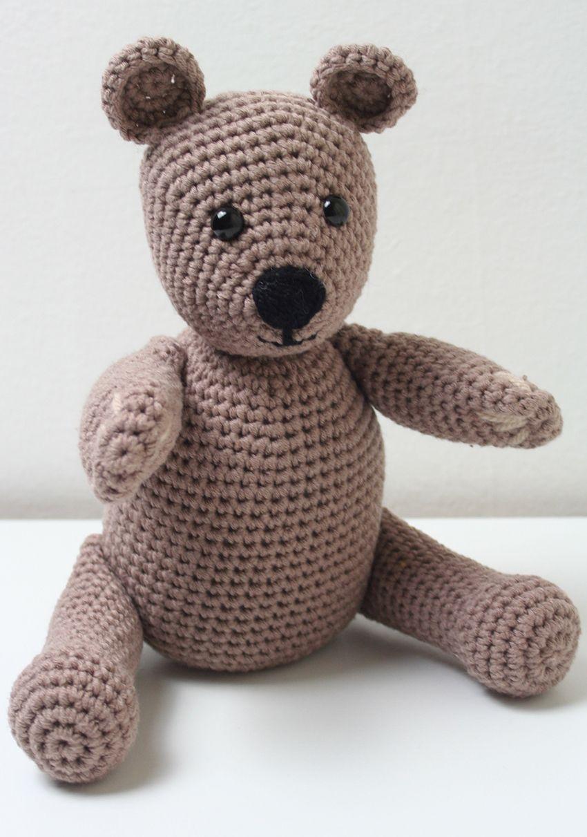 Free Crochet Teddy Bear Pattern Crochet Projects Crochet
