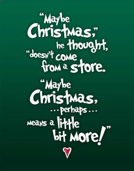 christmas quotes dr seuss how the grinch stole christmas