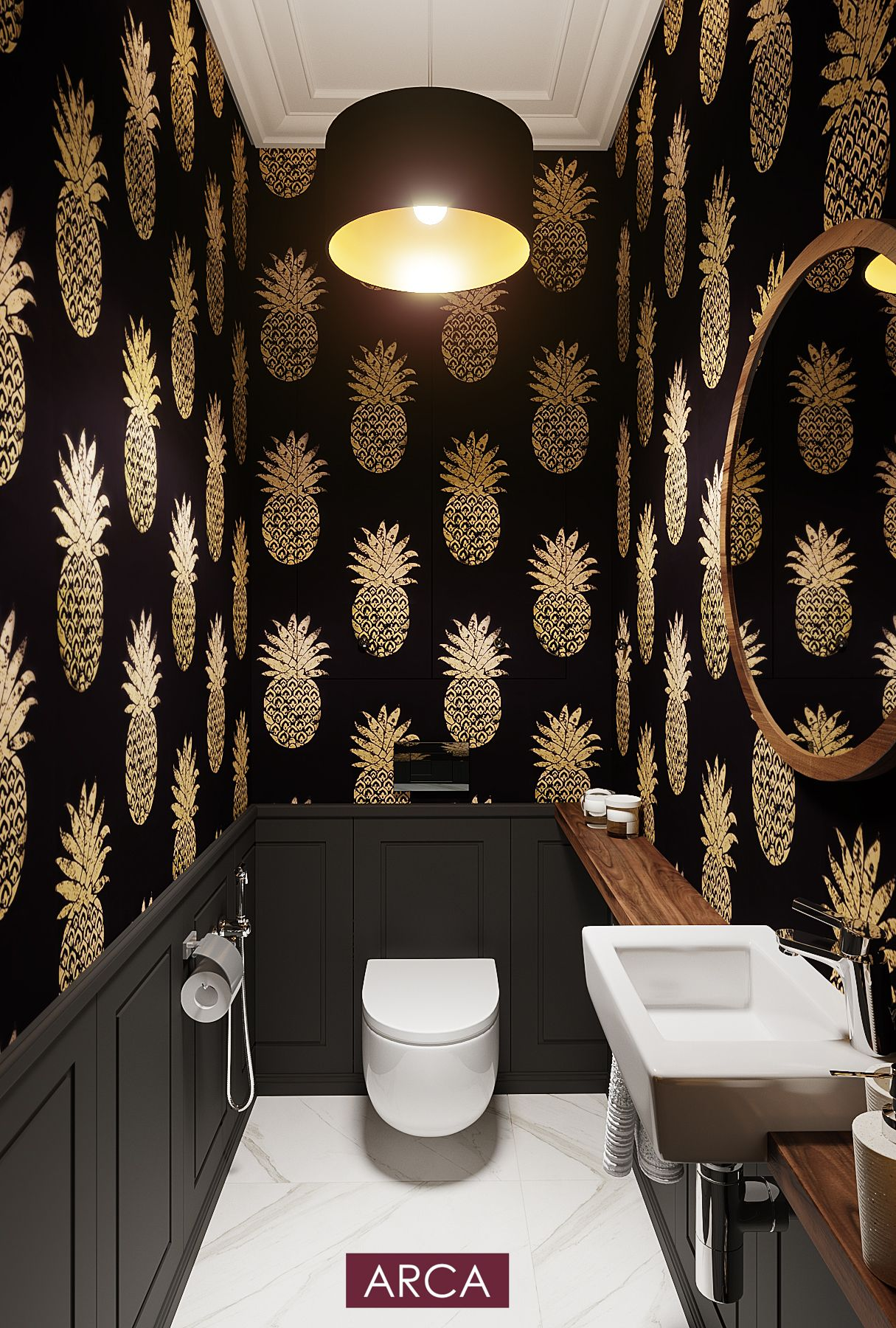 Toilet, black beautiful toilet, gold toilet, wallpapers in