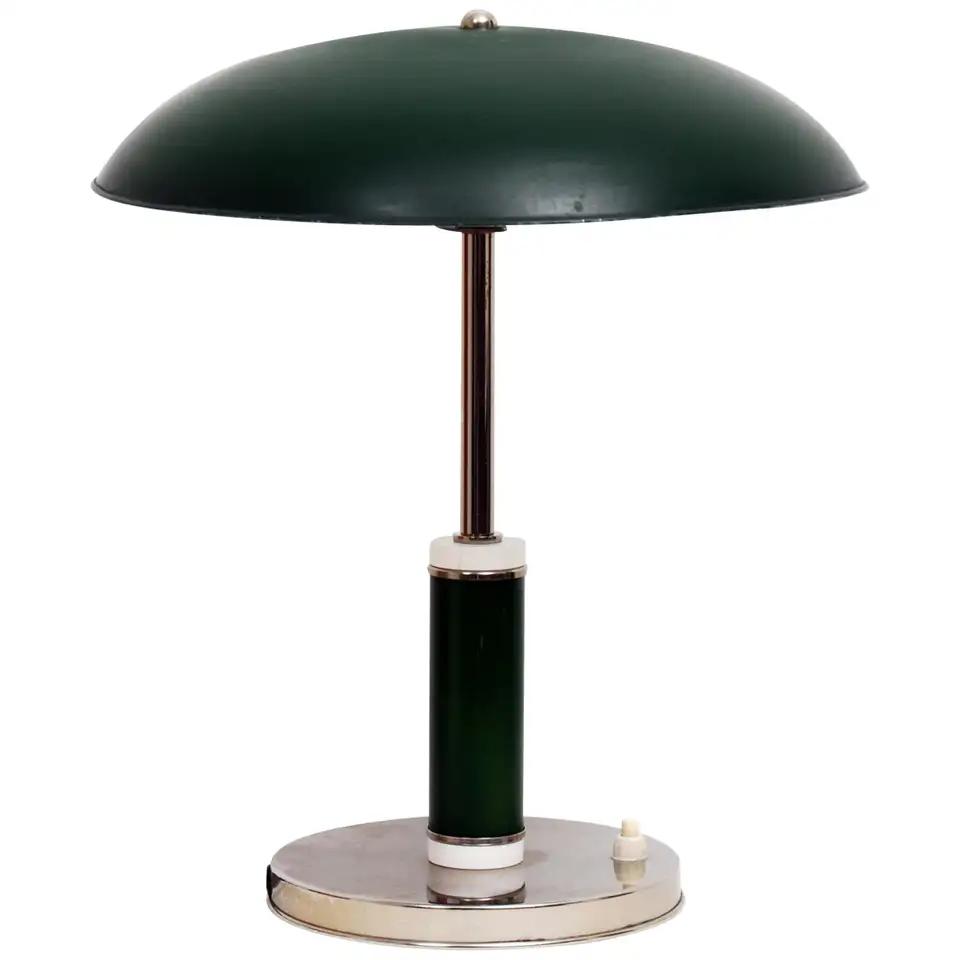 Vintage Art Deco Swedish Grace 1930s Table Desk Lamp In 2020 Vintage Table Lamp Modern Desk Lamp Art Deco Lamps