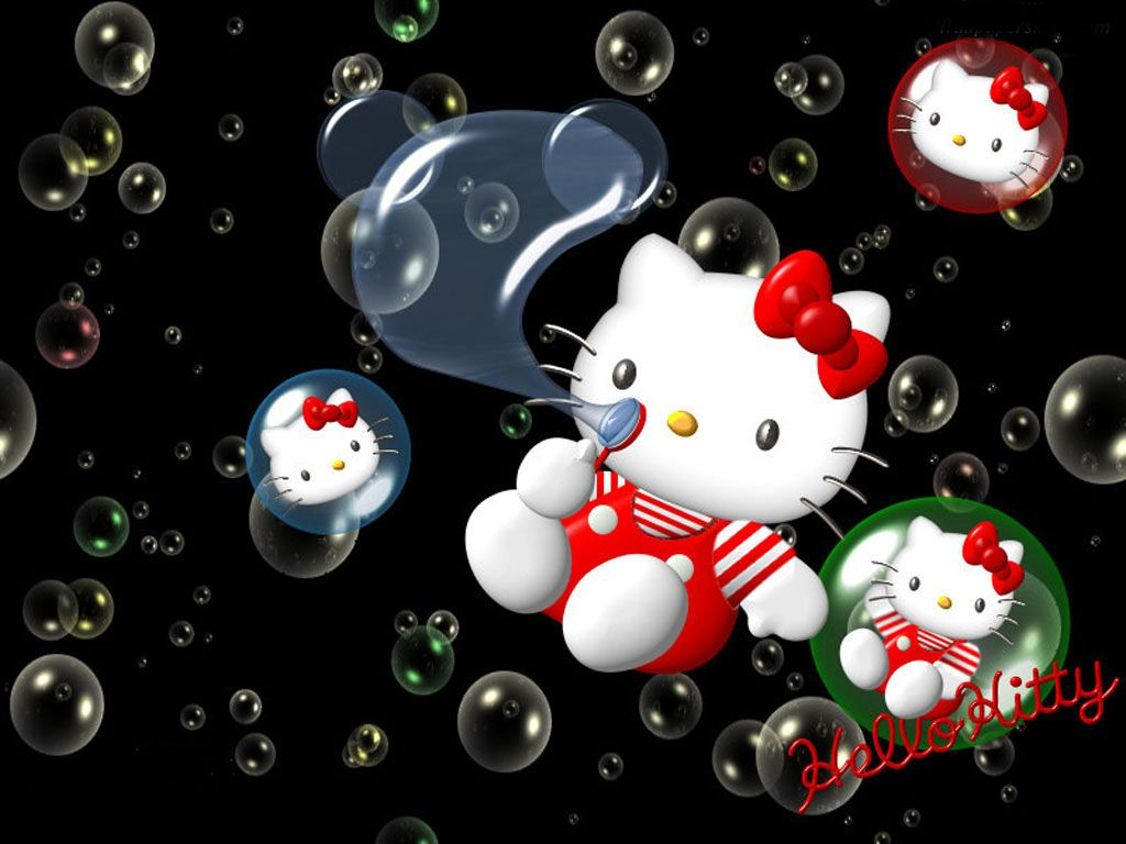hello kitty | 3D Hello Kitty , Download 3D Hello Kitty Wallpapers HD Windows 8 For ...