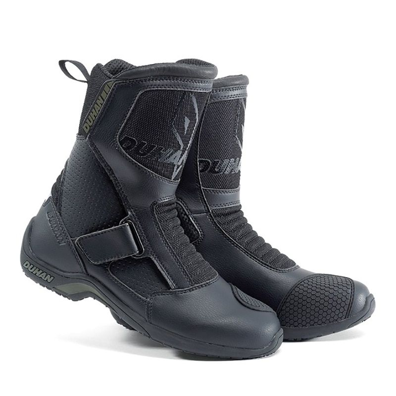 Motorcycle Boots Road Bike Motorbike Boots Leather Waterproof Breathable Shoes