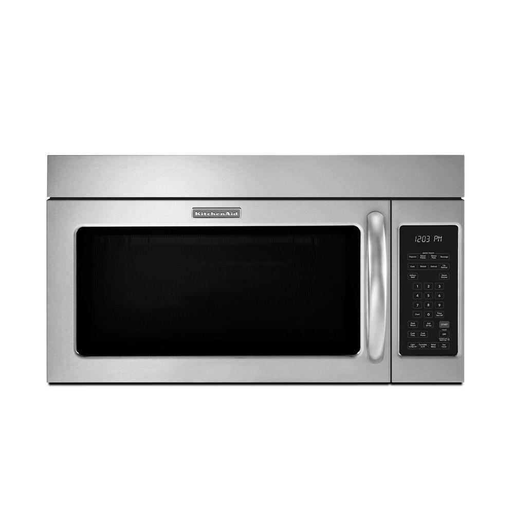 Kitchenaid 20 cu ft overtherange microwave