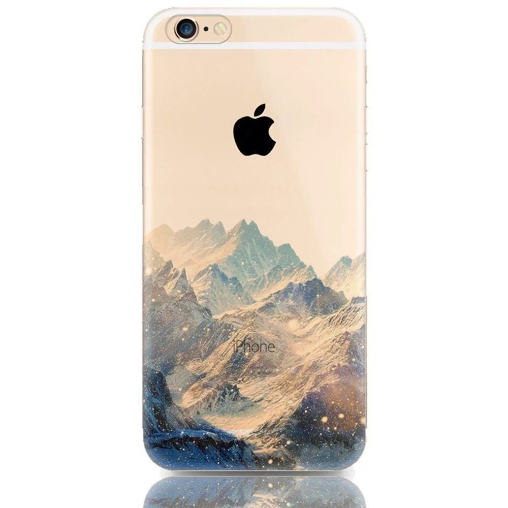 coque iphone 6 silicone nature