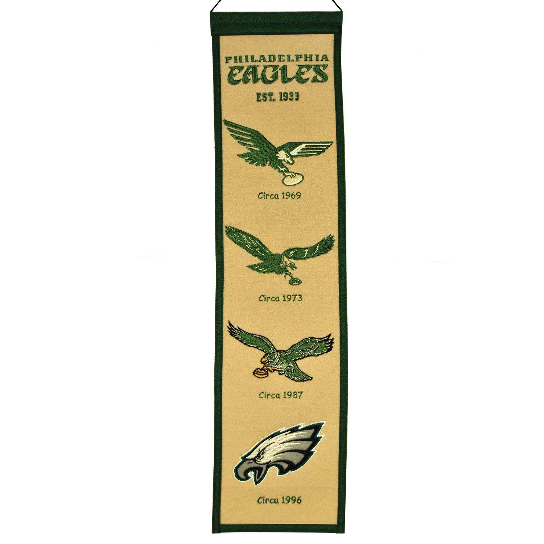 Philadelphia Eagles NFL Heritage Banner | Products | Pinterest ...