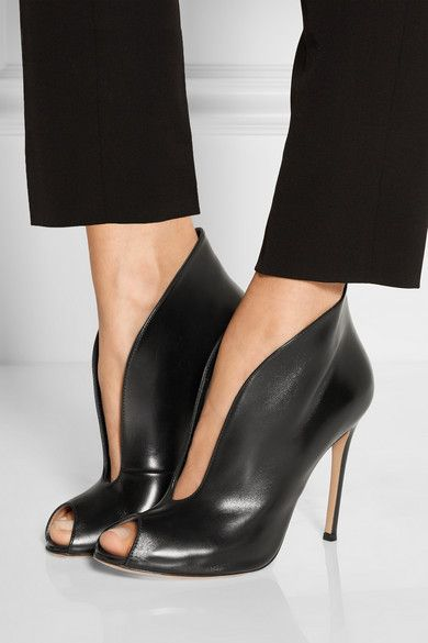 Footwear · Gianvito Rossi | Vamp 105 leather ankle boots ...