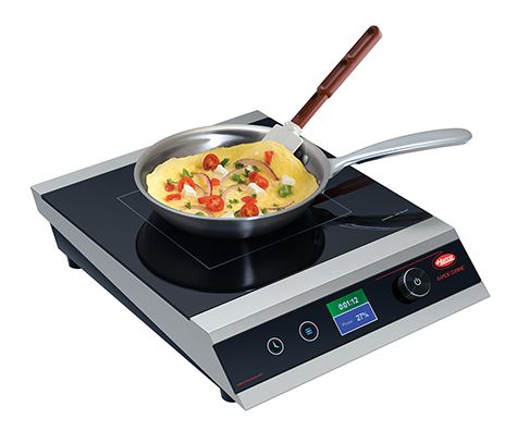 The Hatco Rapide Cuisine Countertop Induction Range Irng Pc1 1x