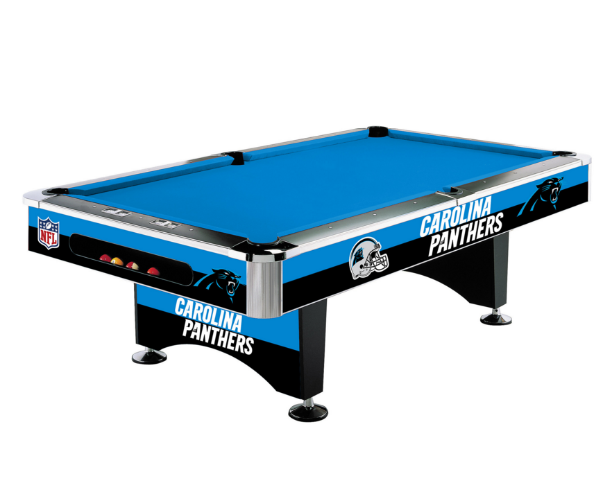 Carolina Panthers Pool Table HttpwwwBilliardFactorycomCarolina - Panther pool table