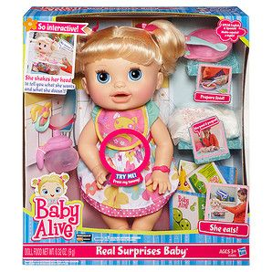 Baby Alive Real Surprises Baby Target Australia Surprise Baby Baby Dolls Baby Alive