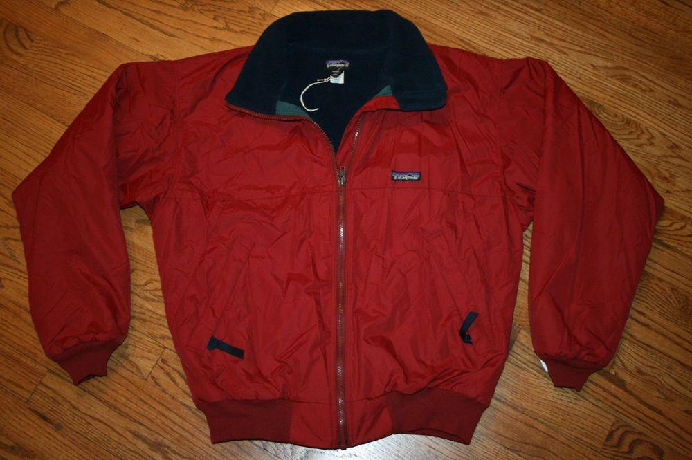 Vintage Patagonia Nylon Fleece Lined Zip Jacket Men S