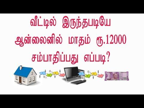 How to Earn Money Online Work without Investment from Home