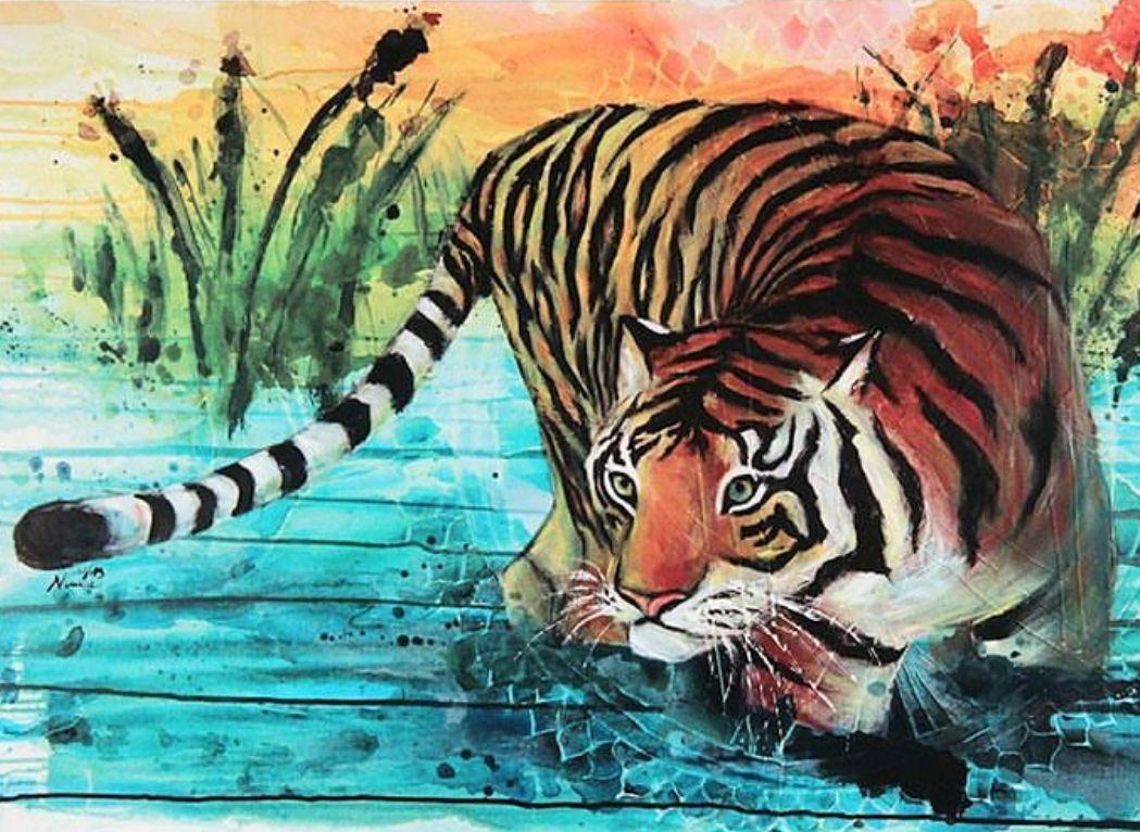Tiger | @nimue_tigressart