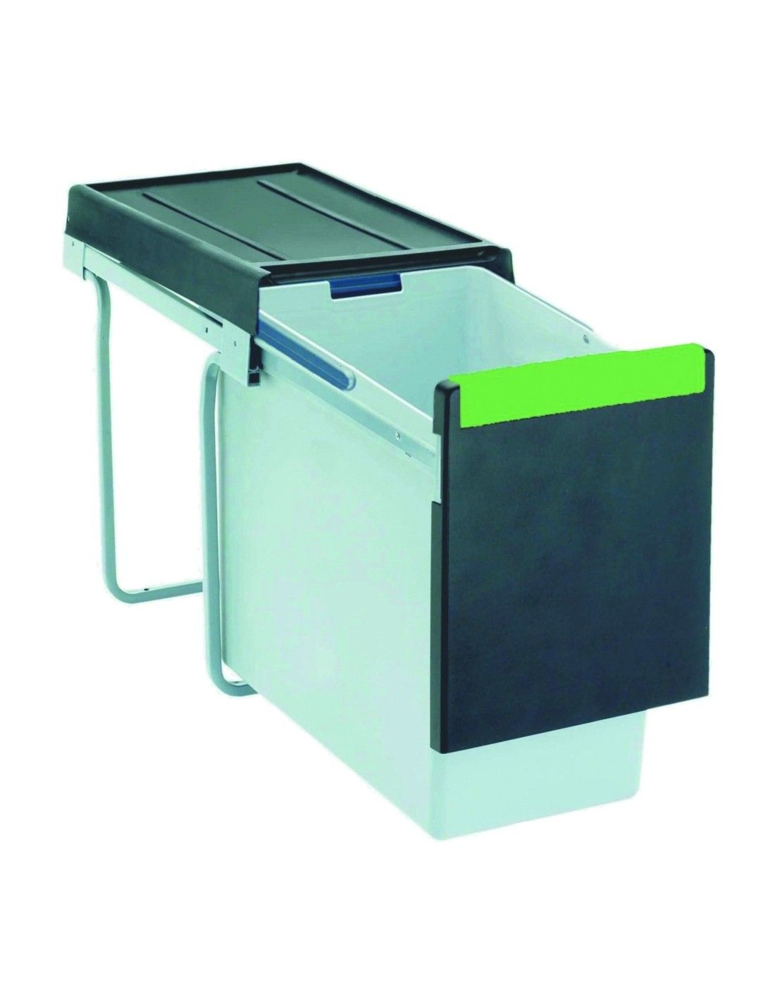 Pull Out Kitchen Waste Bin Suits 300mm Units 30l Single Container