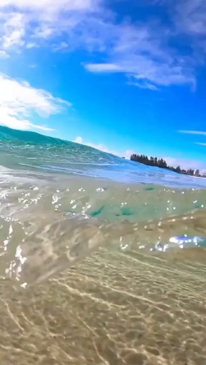 Crystal clear waves!