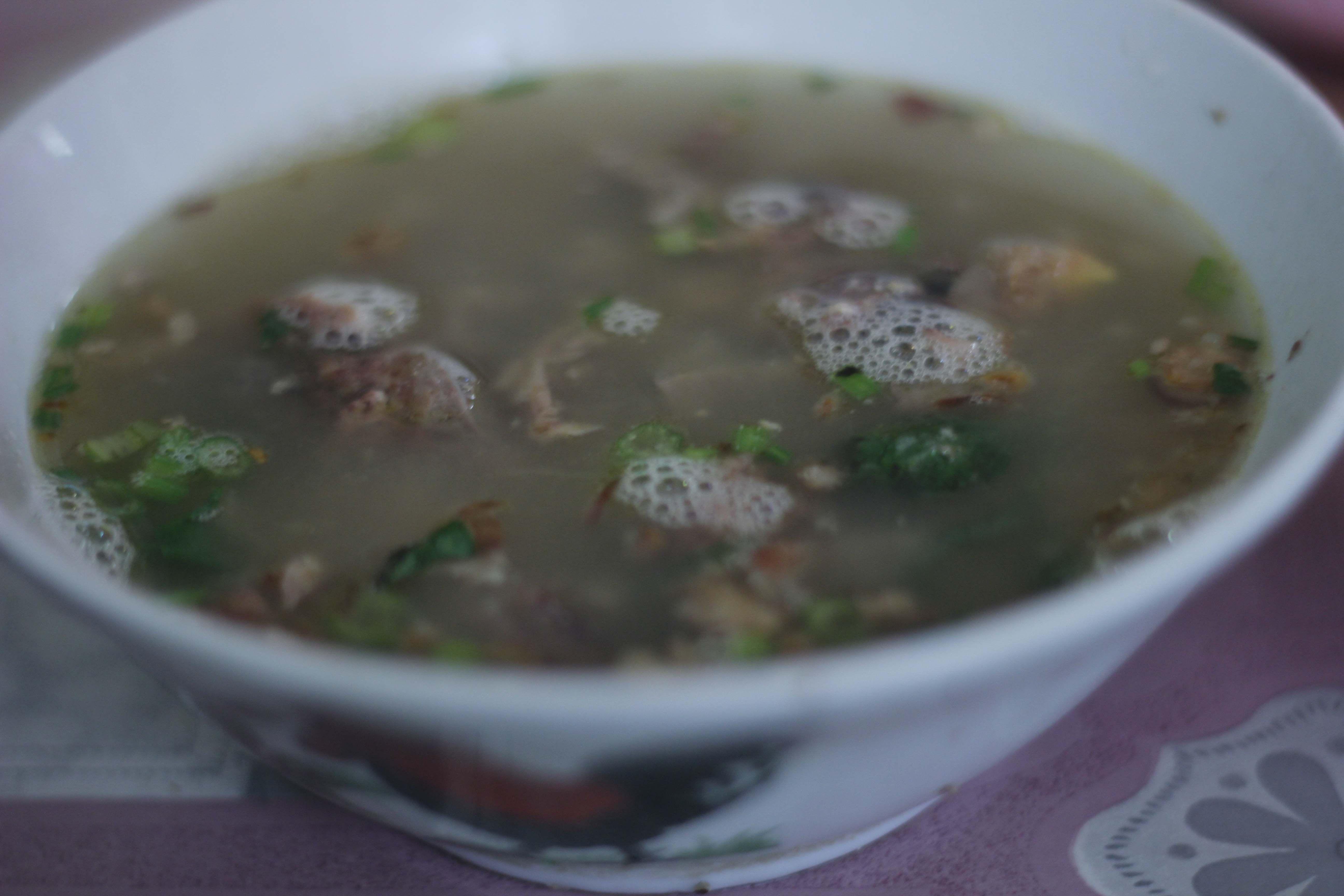 Sop Ayam Pak Min Makanan Resep Masakan