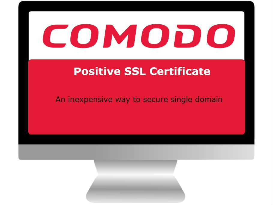 Comodo Positive Ssl Certificate Is The Best Security Solution To