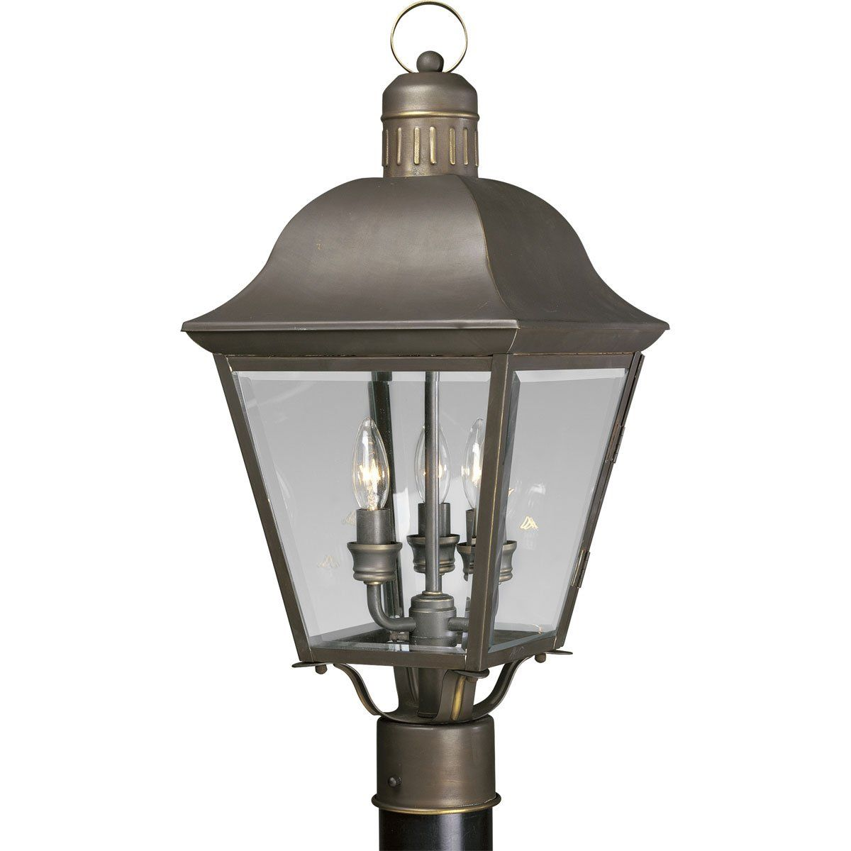 Progress Lighting P5487 20 3 Light Andover Post Lantern Antique Bronze Want To Know More Click On The Image Outdoor Post Lights Lantern Post Post Lights
