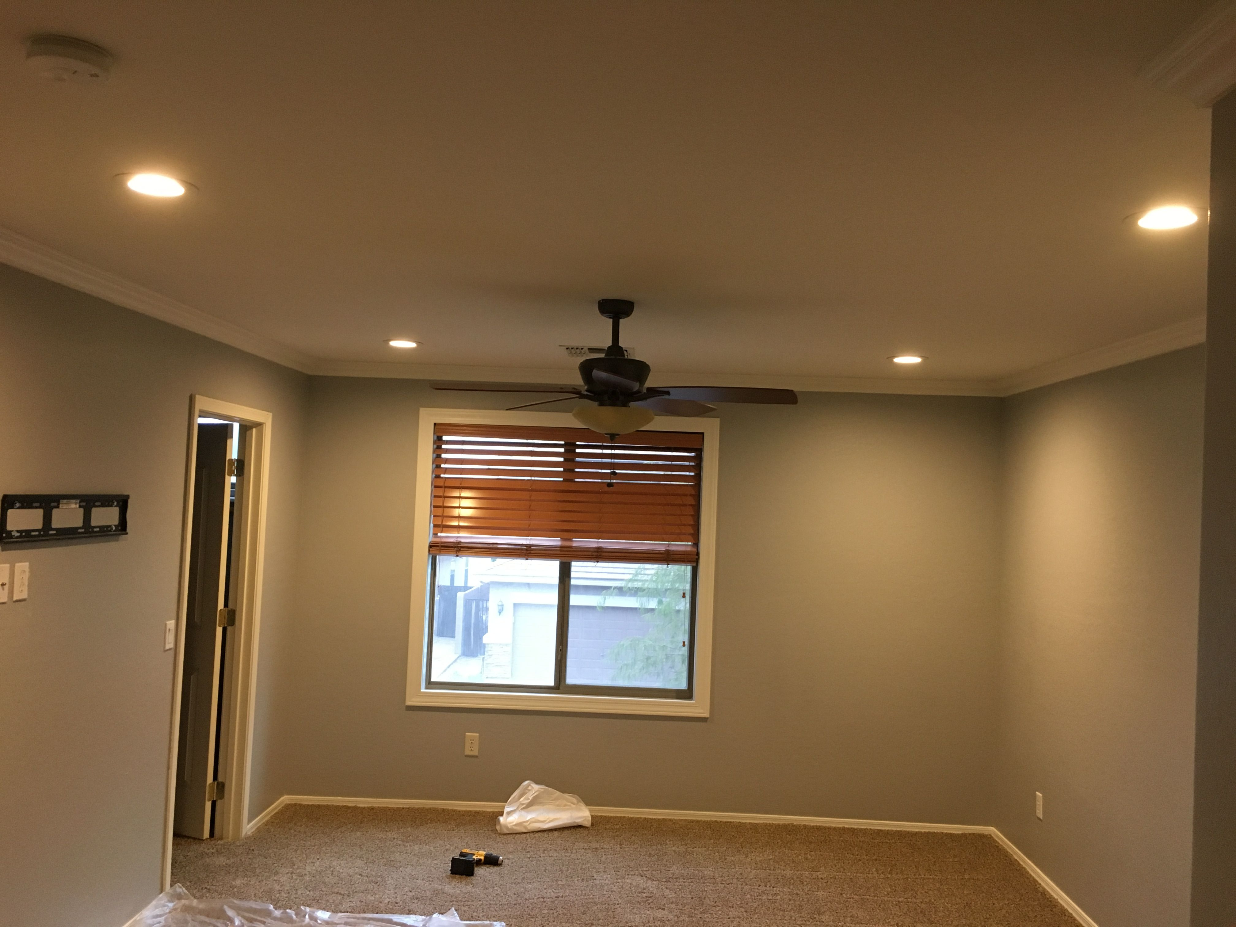 4 6 Inch 2700k Led S Installed Installed Tv Outlet And Cable For Wall Mounted Tv Frame Recessed Lighting Living Room Recessed Lighting Trim Recessed Lighting