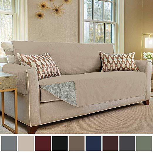 Amazon Com Gorilla Grip Original Slip Resistant Sofa Slipcover