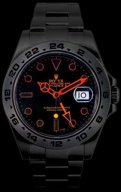Rolex Black Venom Explorer II 216570 Limited Edition Hodinky Rolex 3f6c0fc160d