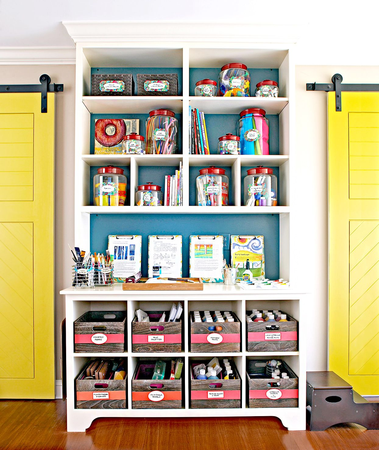27 Clever Ideas for Organizing Craft Supplies