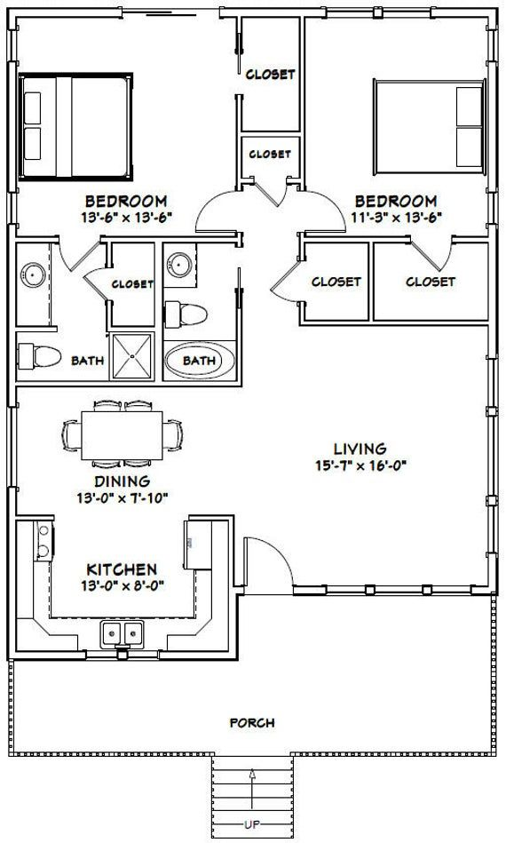 2 Bed 2 Bath With Loft House Plans Novocom Top