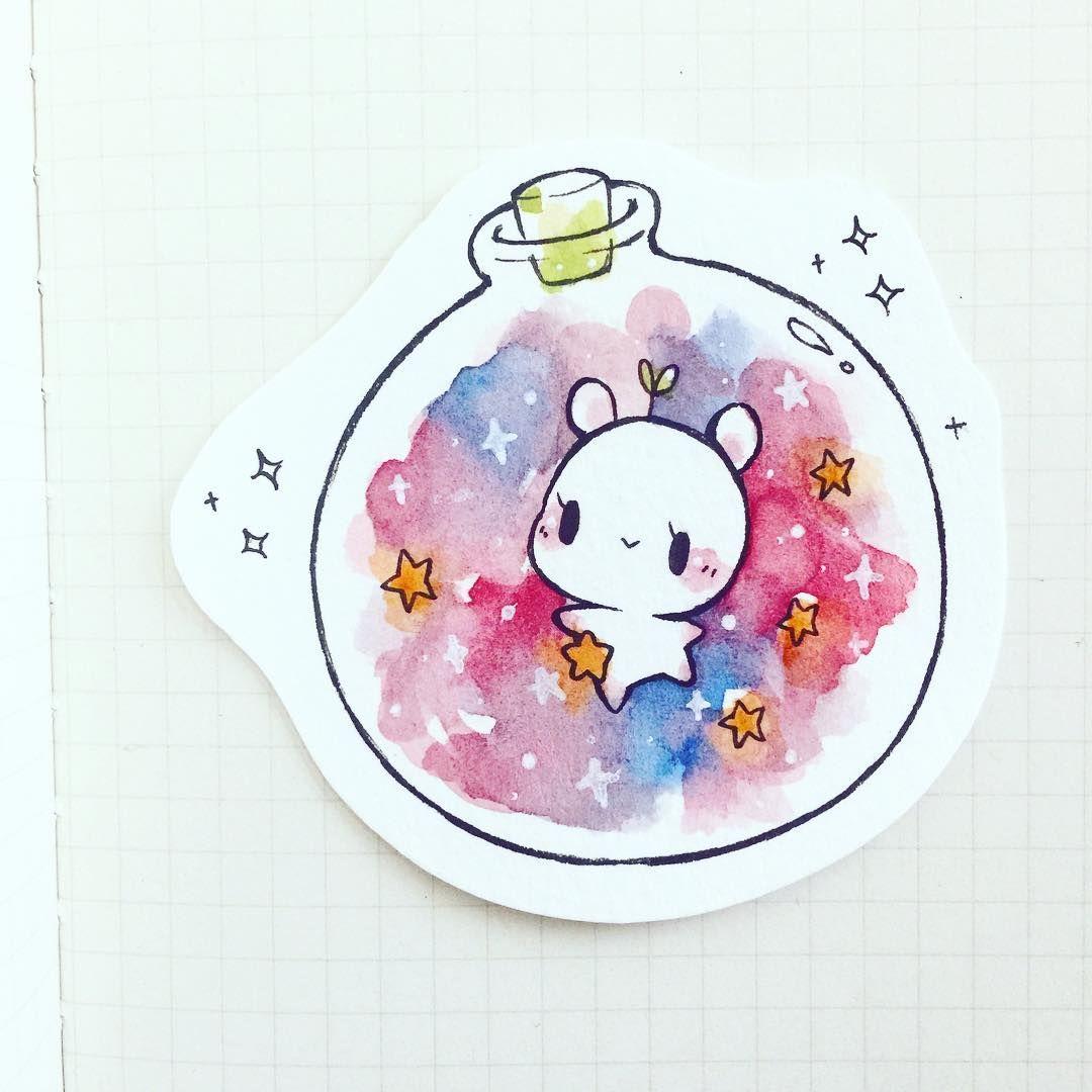Cute Drawing Ideas: Planeterrarium Baby