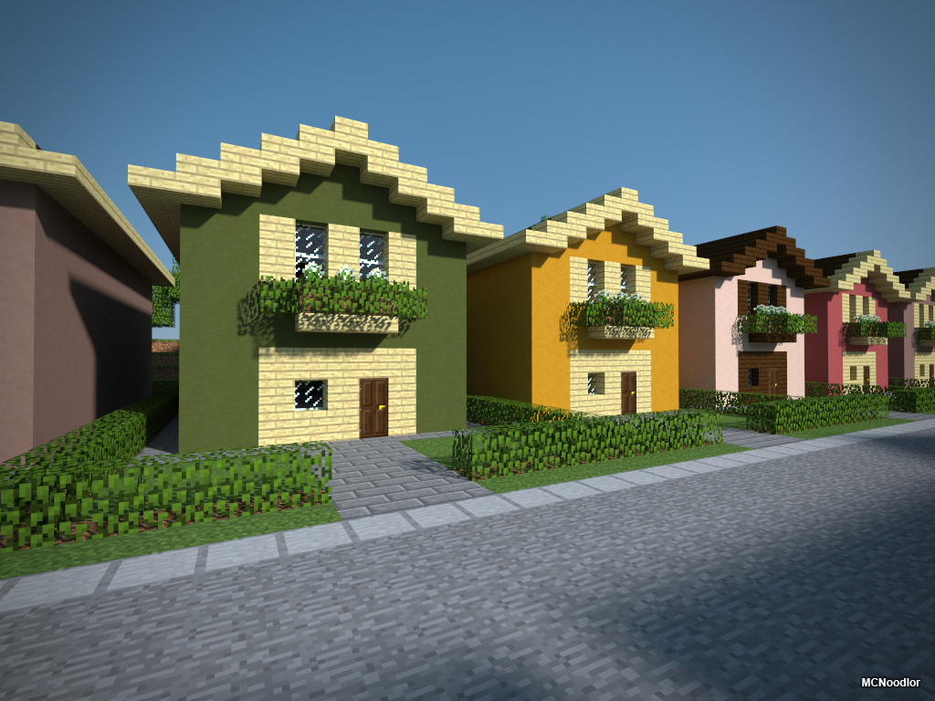Suburban Bundle Minecraft Ideas Minecraft Stuff And