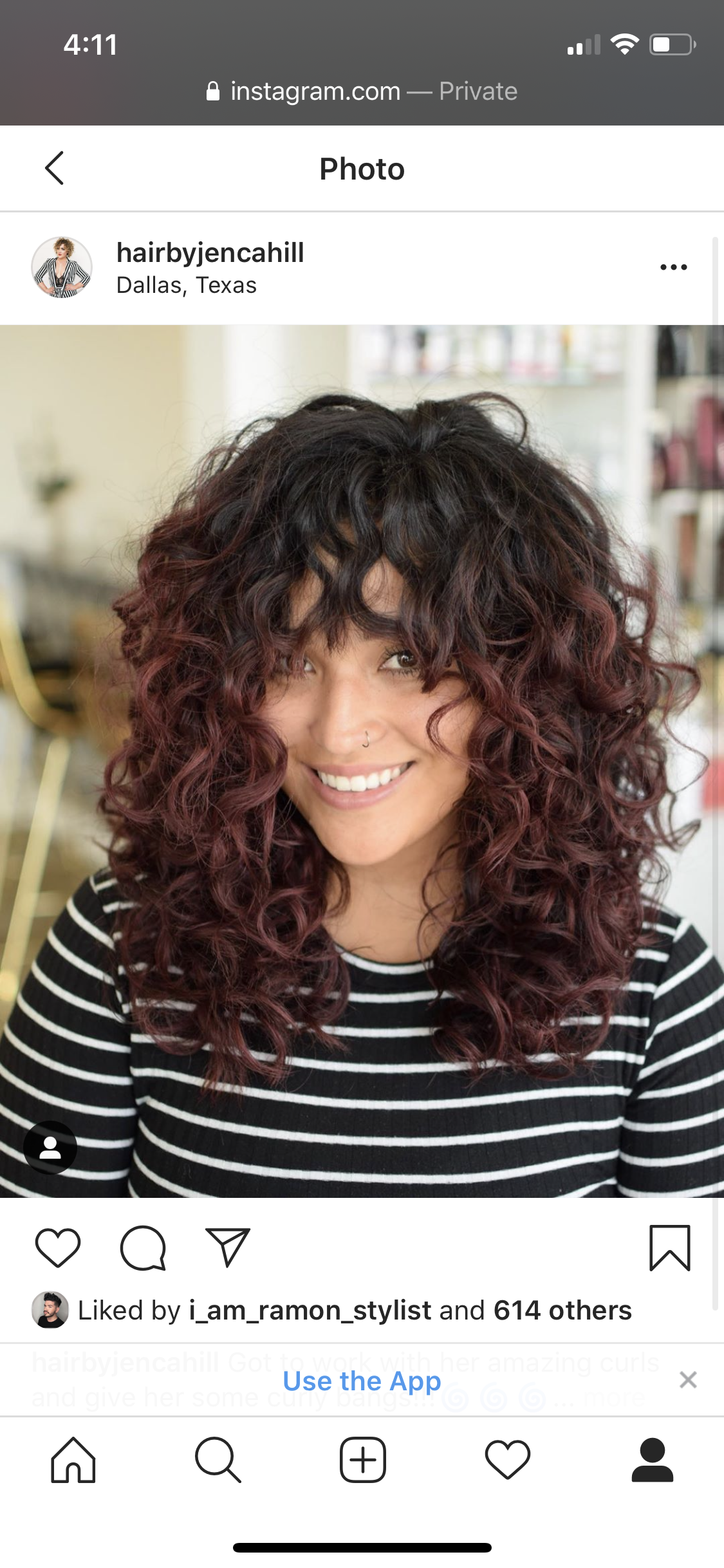 Long Curly Hair Curly Bangs In 2020 Curls For Long Hair Curly Hair Styles Straight Bangs Curly Hair