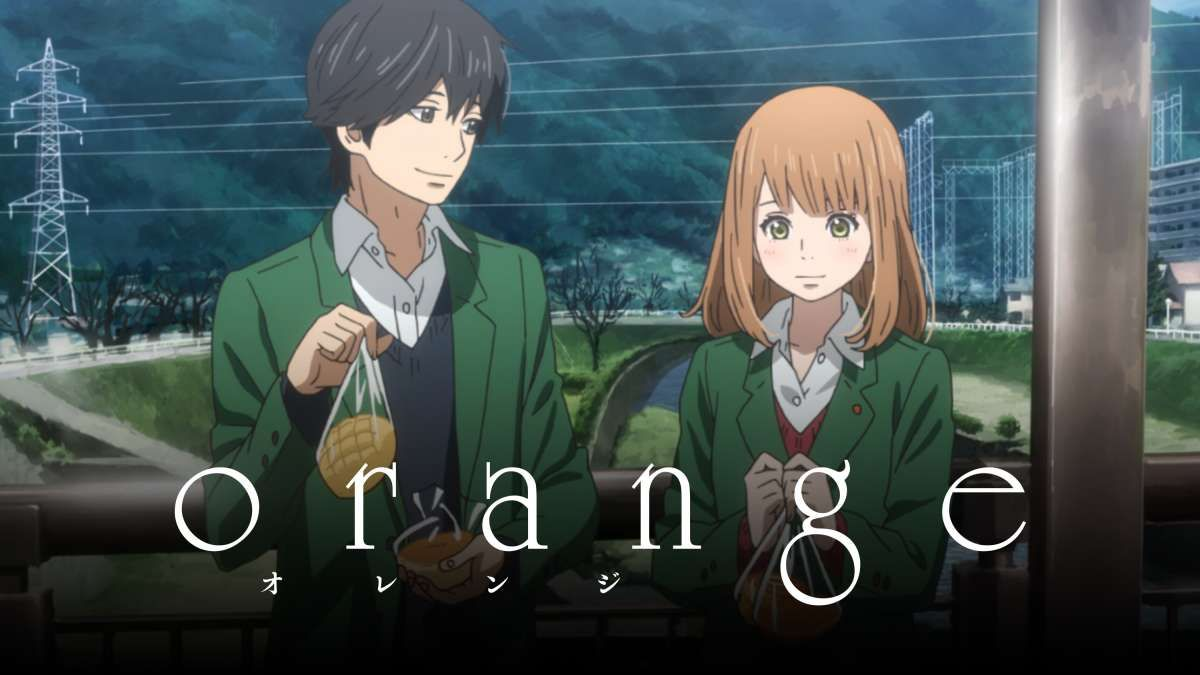 Based on the awardwinning manga orange is the gripping
