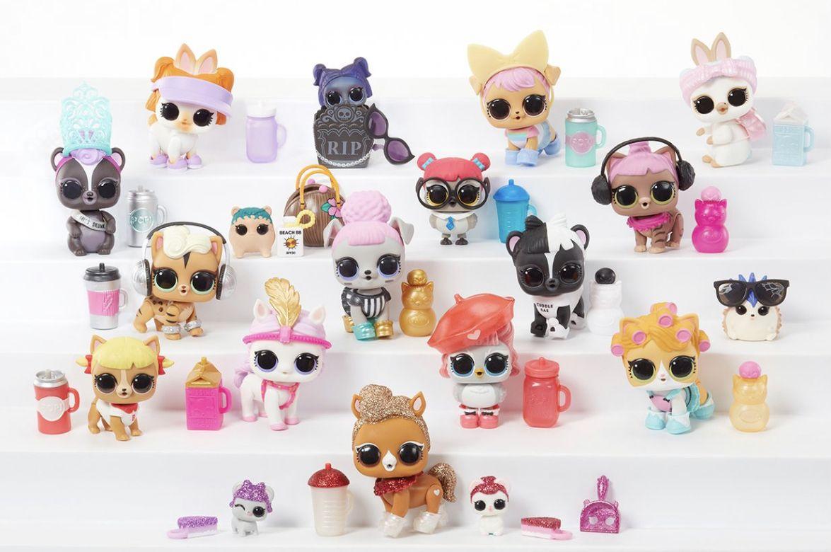 L O L Surprise Pets Capsule Series 4 Pet Ball Lol Dolls Toys Gift