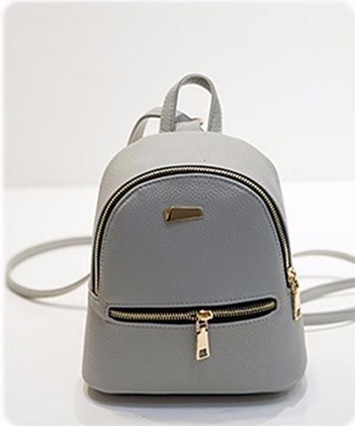 Small Women Leather Backpack Children Girls Backpack Mini Backpacks for Teenage  Girls Portable Zipper Bag For Girls 5d2126adba962