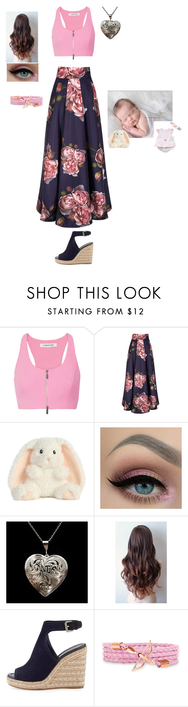 """""""Dinner with My Brother"""" by thisisme129 ❤ liked on Polyvore featuring Elizabeth and James and Prada"""